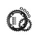 Race Face Turbine Chainring Set 4 Bolt 22/36 2x10-fach schwarz